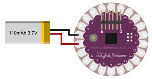 Circuito-Lilypad-Bateria
