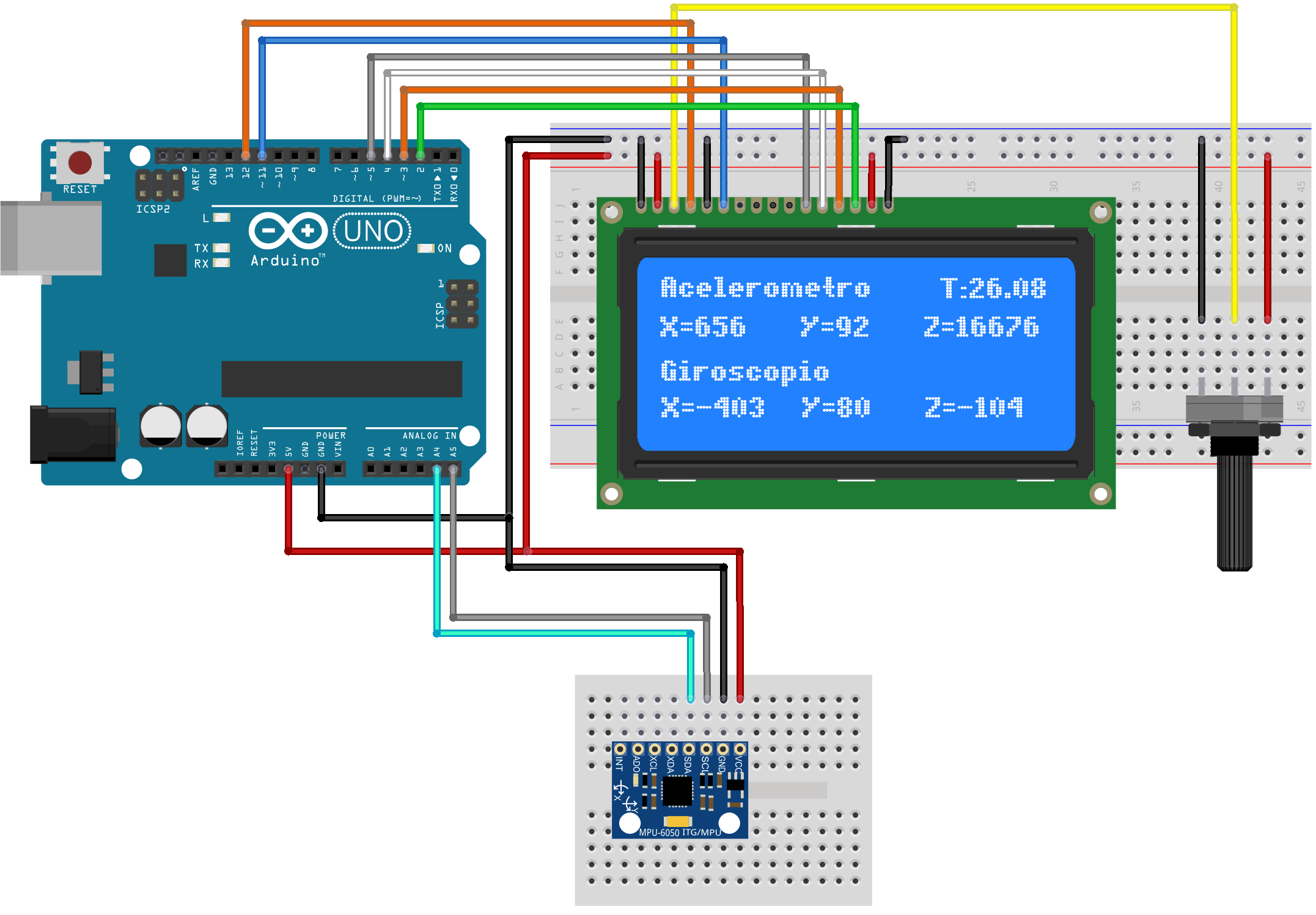 Grove 3-axis Digital Accelerometer for Arduino